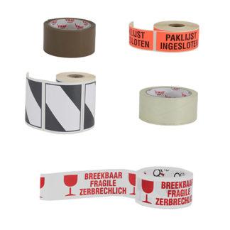 Tape en etiketten
