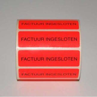Etiket-factuur-ingesloten